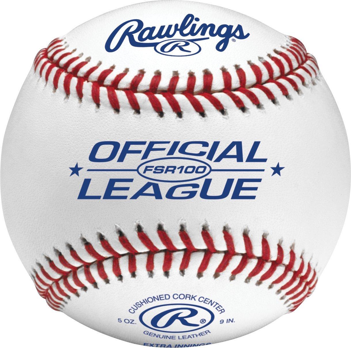 Rawlings Collegiate Baseball, Flache Nähte, 12 Count, FSR100 B00MXHLMQ4 Blle Blle Blle Tadellos 2a15b1
