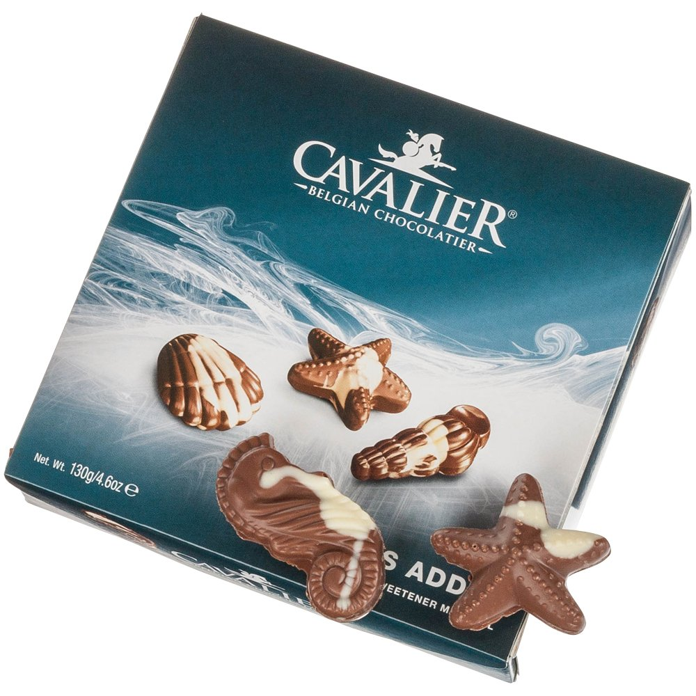 Cavalier - Seashells No Sugars Added - with Maltitol - 130g