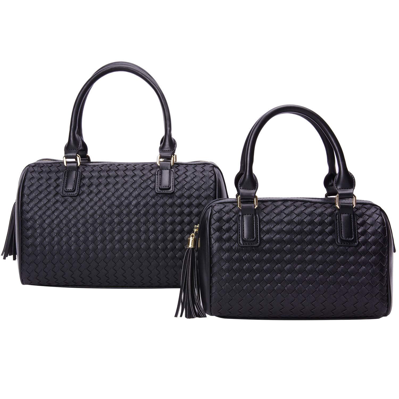 ac0e98303356 Amazon.com: PACO TORA Handbags Woven Shoulder Bag Tassel Crossbody ...