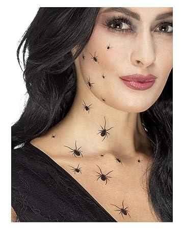 Horror Shop Halloween Spinnen Tattoos Für Hexen Vampir Kostüme