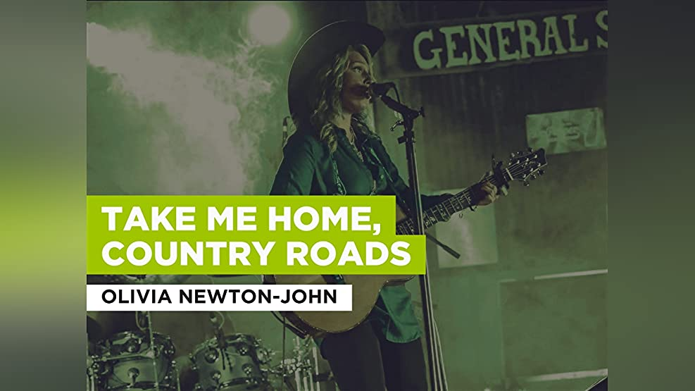 Take Me Home, Country Roads im Stil von Olivia Newton-John