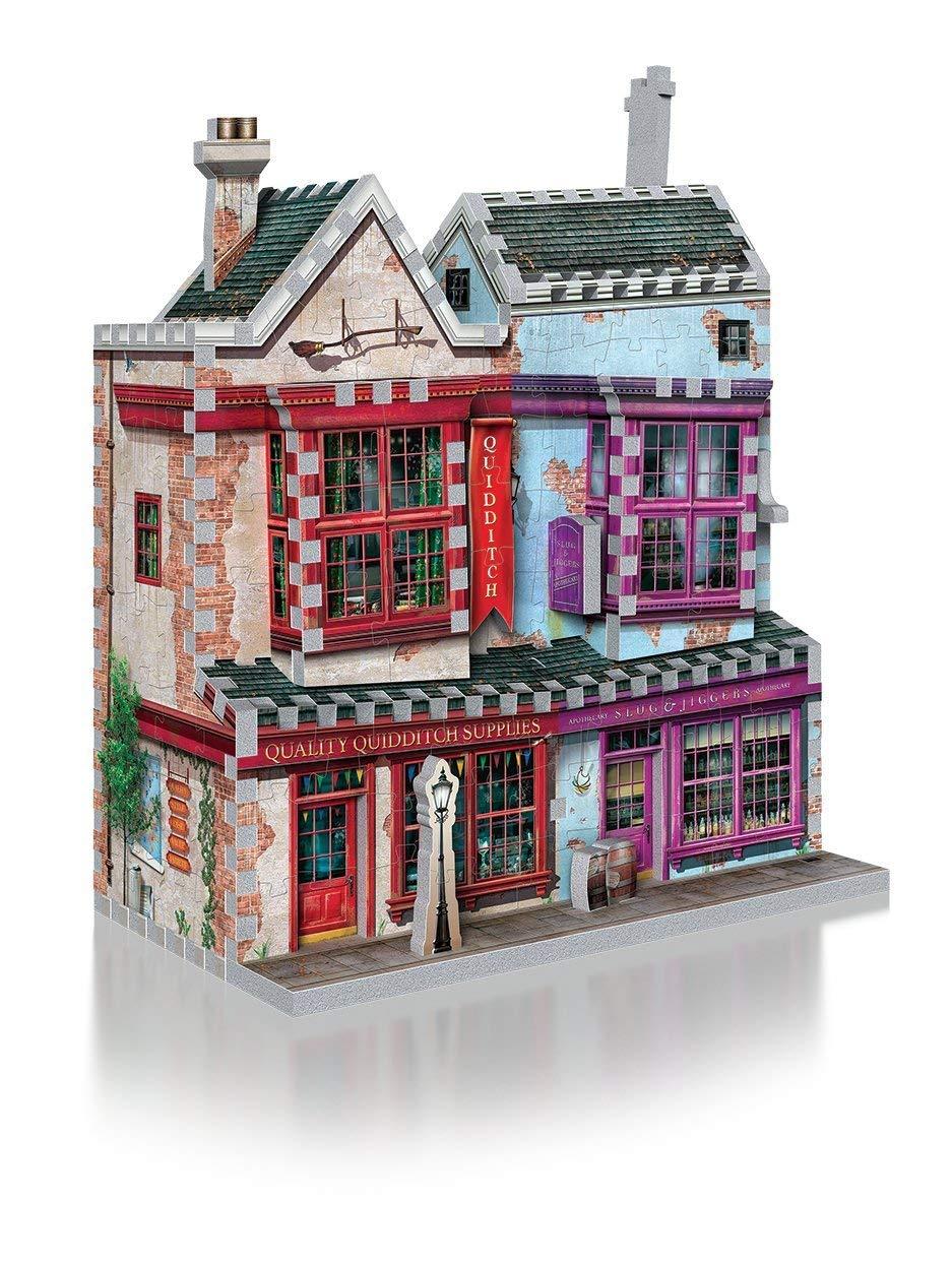 WREBBIT 3D Harry Potter Quality Quidditch Supplies & Slug Jiggers 3D Jigsaw Puzzle (305-piece) Wrebbit Puzzles Inc. DIAGON_2