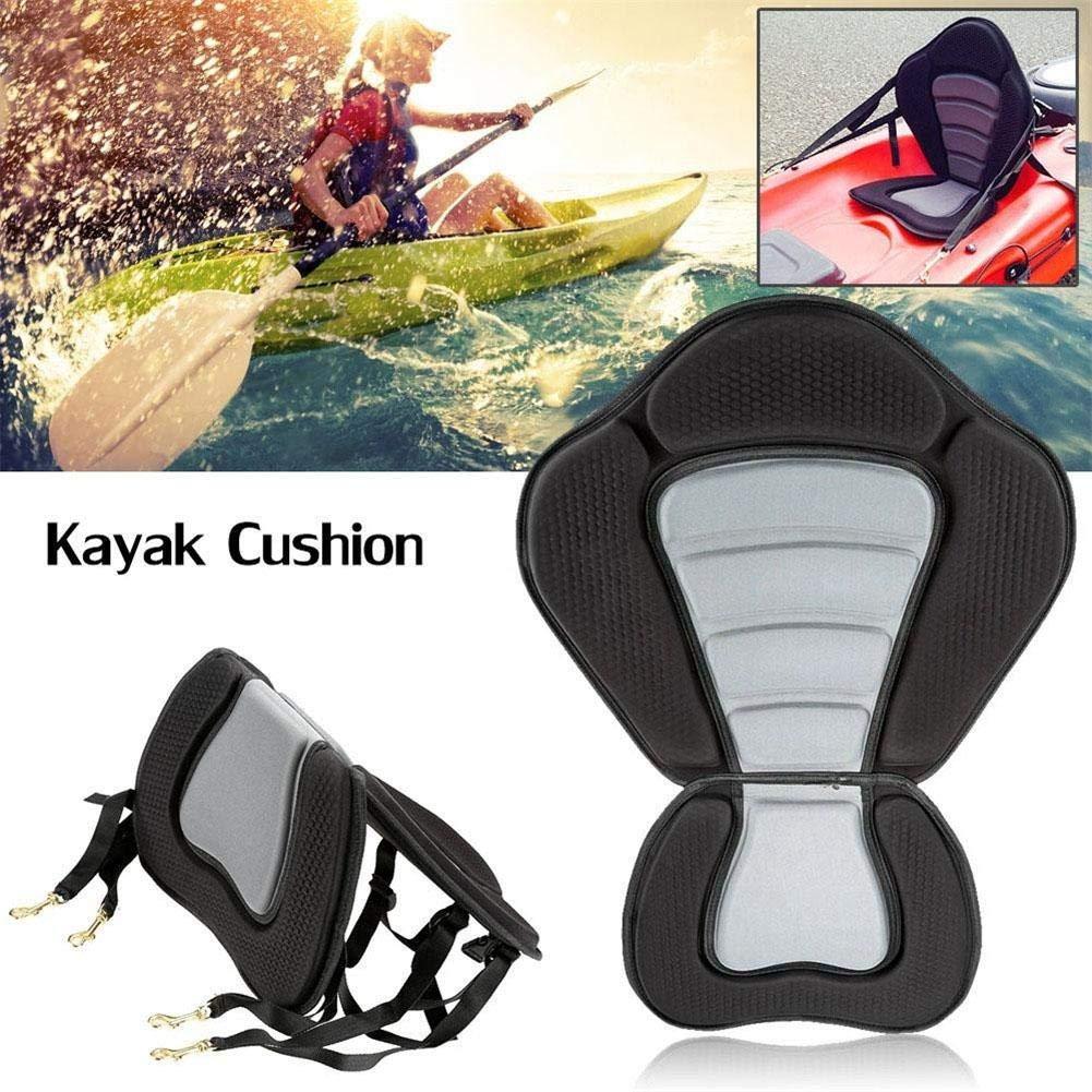 following Asiento de Kayak Acolchado Asiento de Barco Respaldo Confort Ajustable Asiento Trasero Acolchado Soporte de Respaldo Kayak y Canoa Asiento y Respaldo de Barco Respectable