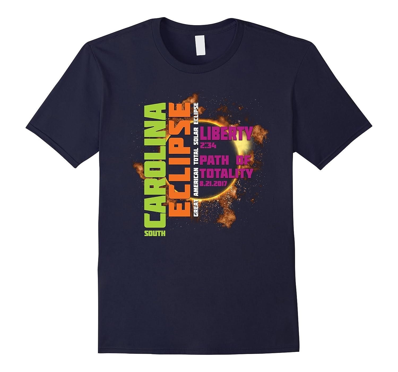 Liberty, South Carolina 2017 Solar Eclipse TShirt, T Shirt-Art