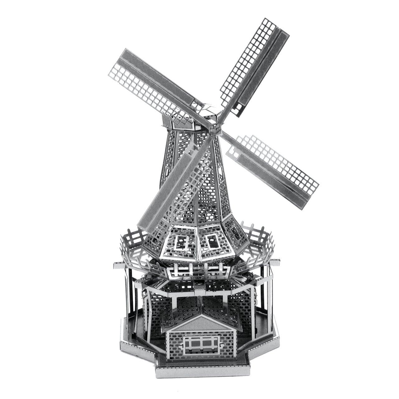 Metal Earth Fascinations Windmill 3D Metal Model Kit