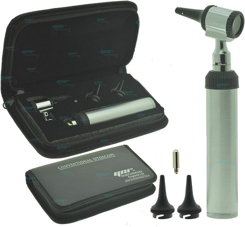 Ynr Otoscopio Microscopio Auriscope Convencional Examen Diagnóstico Médico Ce
