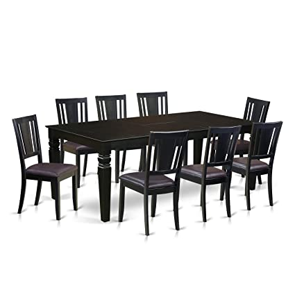 Amazon Com East West Furniture Logan Set Kitchen Dining