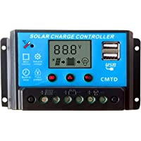 Tumo-Int 20A Solar Controller with LCD and USB (12/24V)