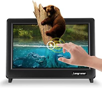Longruner for Raspberry Pi Touch Screen 7 Inch Pantalla táctil Display Monitor 1024X600 LCD TFT HDMI with Protective Case Caja for Raspberry Pi 3 2 1 Model B B+ BB EP711: Amazon.es: Electrónica