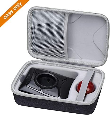 Compatible with HP X3000 Wireless Mouse DURAGADGET Black Neoprene Lightweight Zip-Locked Case