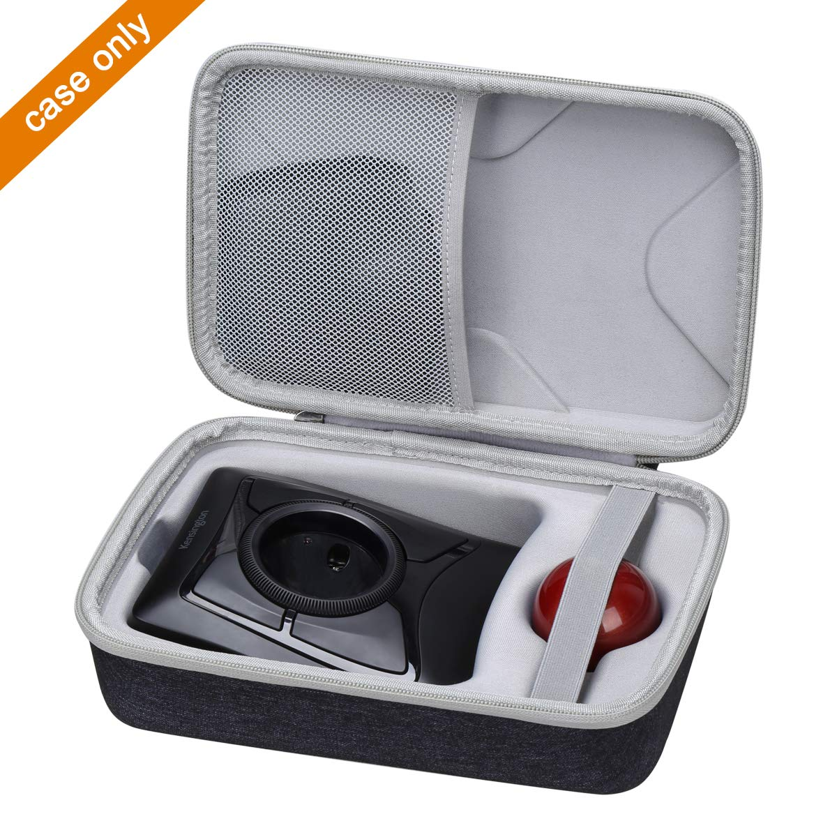 Aproca Hard Carry Travel Case Compatible with Kensington Expert Wireless/Wired Trackball Mouse K72359WW / K64325 by Aproca