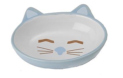 5.5 Oz Cat Is Good Ceramic Cat Dish Pink