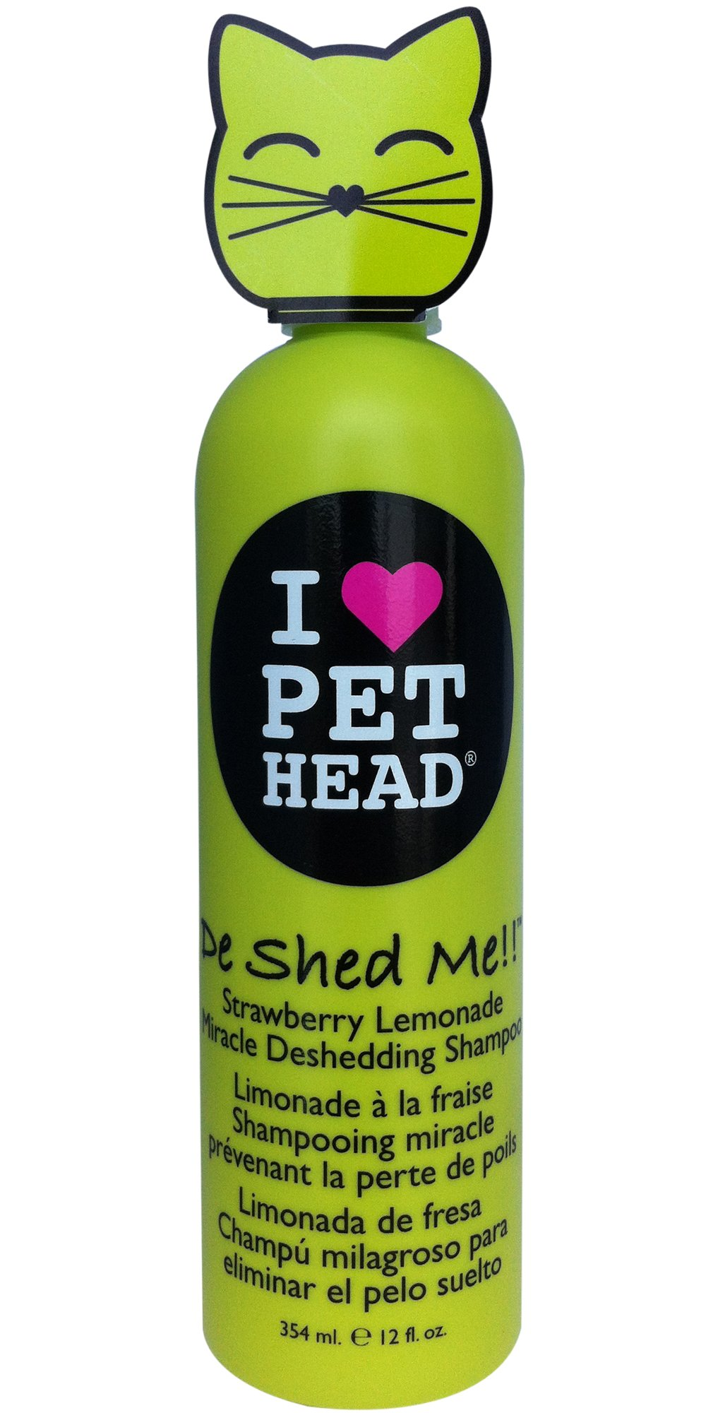 The Company of Animals Pet Head De Shed Me!! Deshedding Shampoo for Cats 12oz