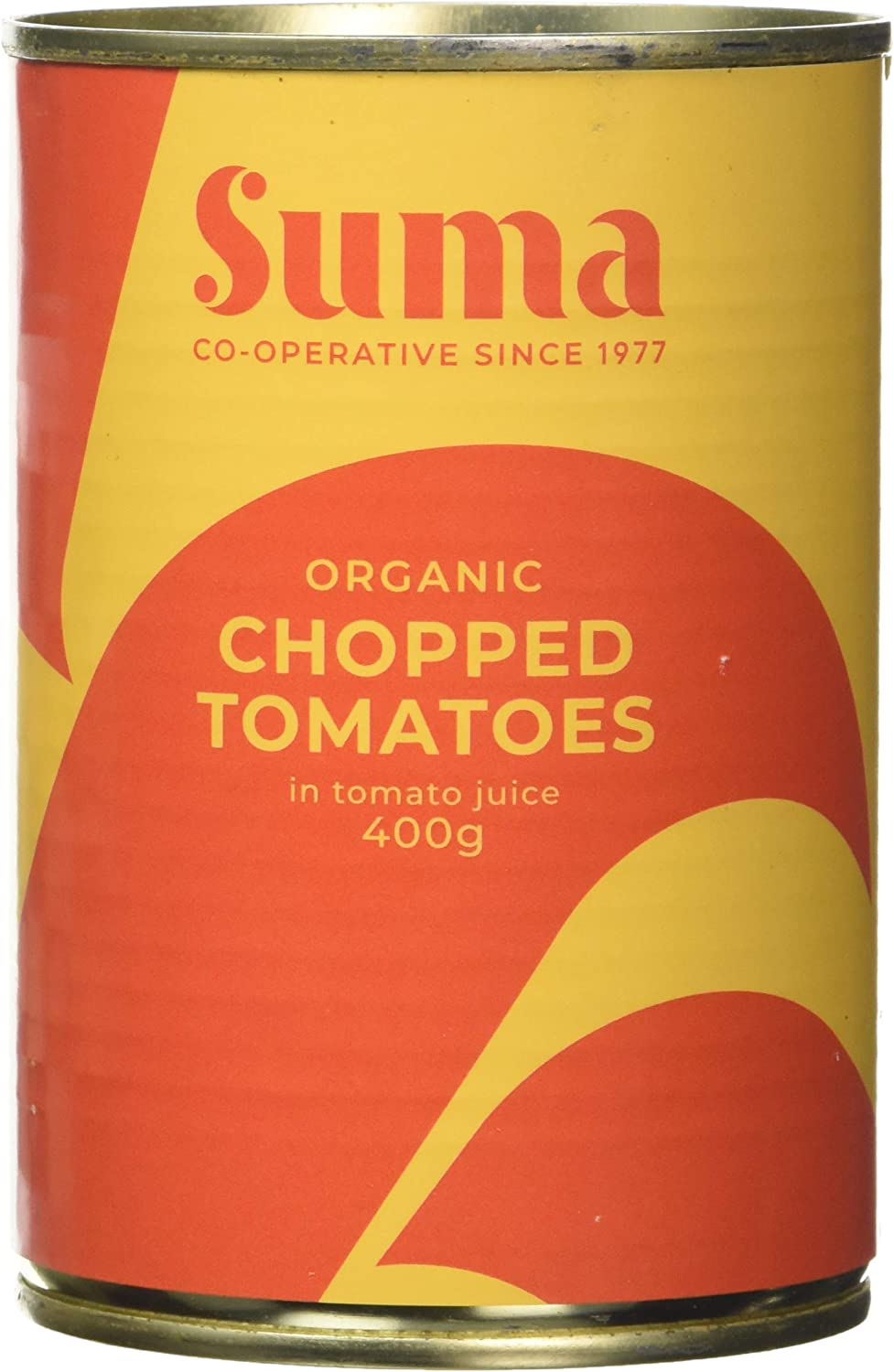 Suma Organic Chopped Tomatoes 400 g (Pack of 12)