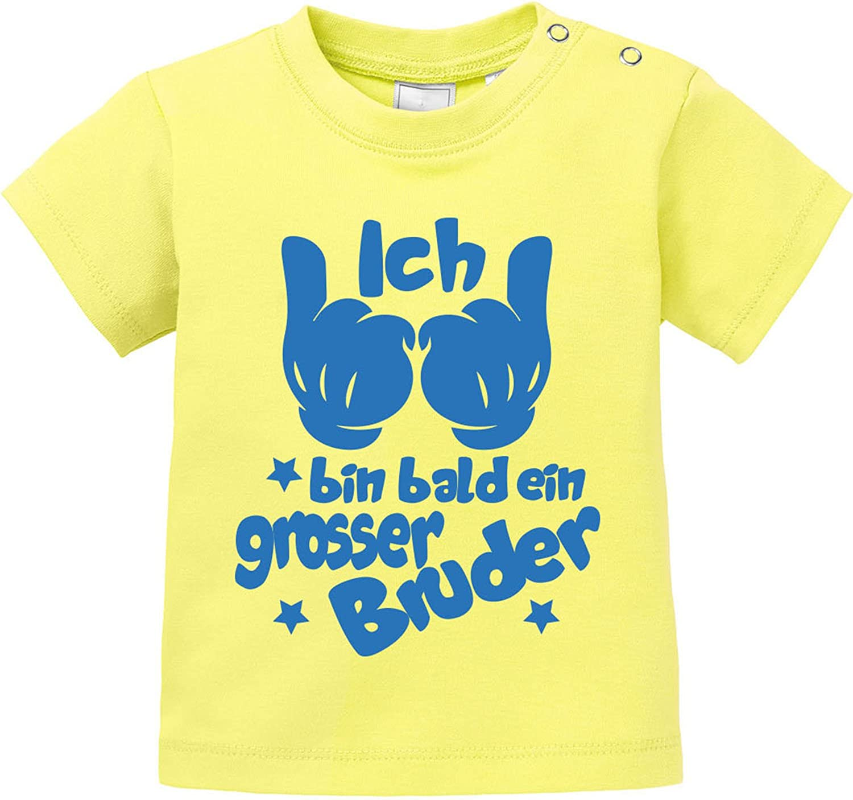EZYshirt/® Ich bin Bald EIN grosser Bruder Baby T-Shirt