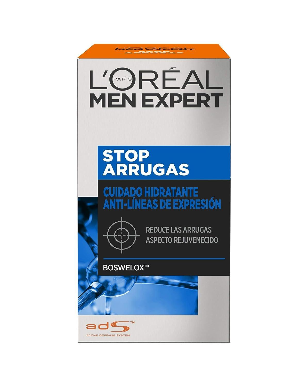 LOréal Paris Men Expert Hidratante Anti-Arrugas de Expresión, Stop Arrugas - 50 ml