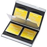 サンワサプライ アルミメモリーカードケース(CFカード用・両面収納タイプ) FC-MMC5CFN