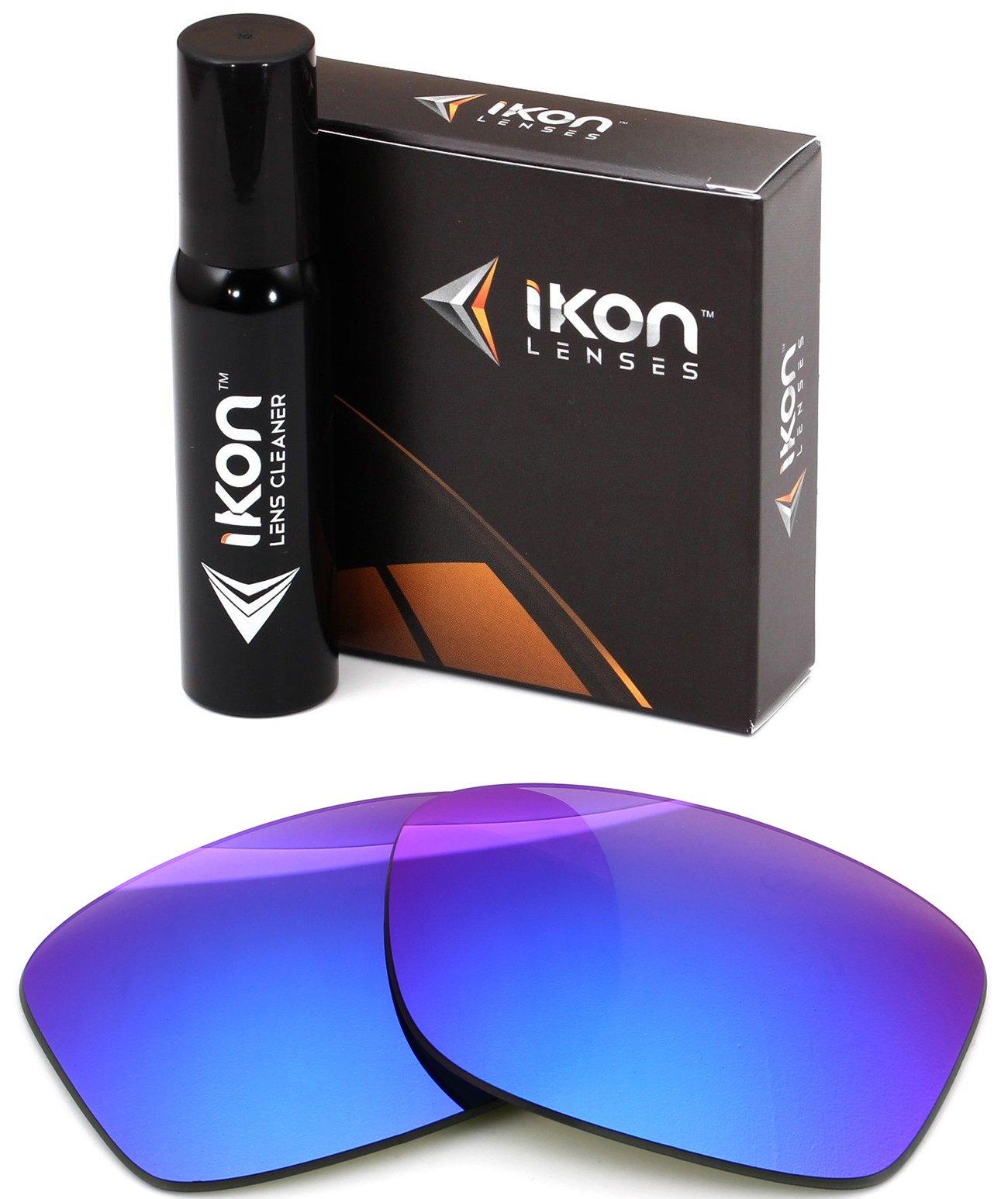 Ikon Lenses Polarized IKON Replacement Lenses For Von Zipper Lesmore Sunglasses - Violet