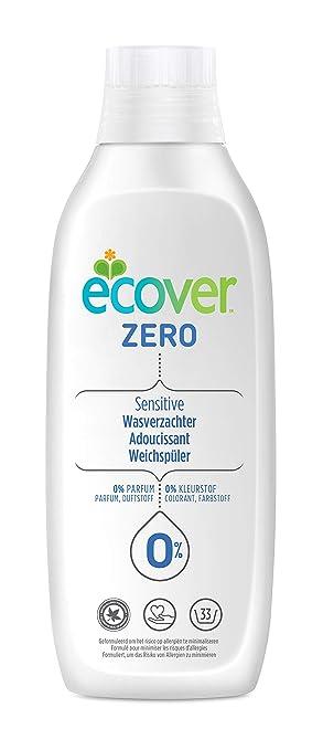 Suavizante Ecover Zero 1L, 33 lavados.: Amazon.es: Salud y cuidado ...