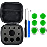 eXtremeRate Metal Magnetic Thumbsticks Analogue Joysticks T8H Cross Screwdrivers Replacement Repair Kits Set for Xbox One S Elite Controller