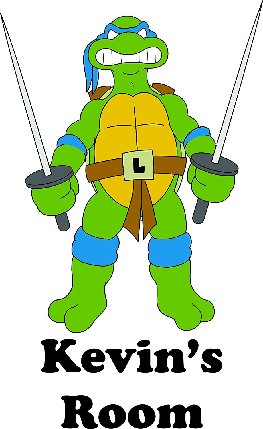 Amazon.com: Personalized Names Custom Name Ninja Turtles ...