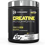 FORZAGEN | Creatina Monohidrato | 100% Monohidrato de Creatina | 400 g | 80 Servicios x Envase | Sin Sabor | 5 g de Proteína