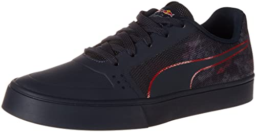 Puma RBR Wings Vulc Team, Zapatillas Unisex Adulto, Azul (Total Eclipse-Chinese Red-Puma White 01), 48.5 EU