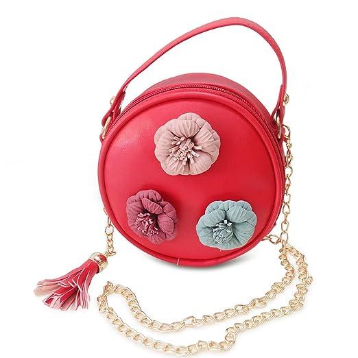26d9389f1c5f Purse for kids- Handbag PU leather Fashion shoulder bag for girl above 5