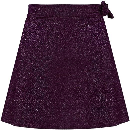 Minifaldas de Playa para Mujer, Sexy, Lisas con Cintura Alta por ...