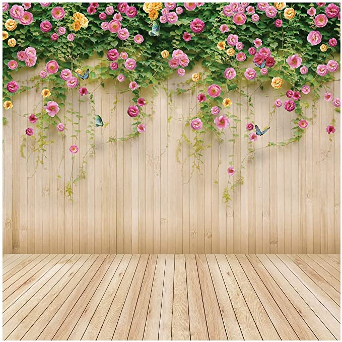 Abstract 10x12 FT Backdrop Photographers,Vertical Wavy Lines Oval Double S Shapes Curves Ogee Pattern Background for Baby Shower Birthday Wedding Bridal Shower Party Decoration Photo Studio