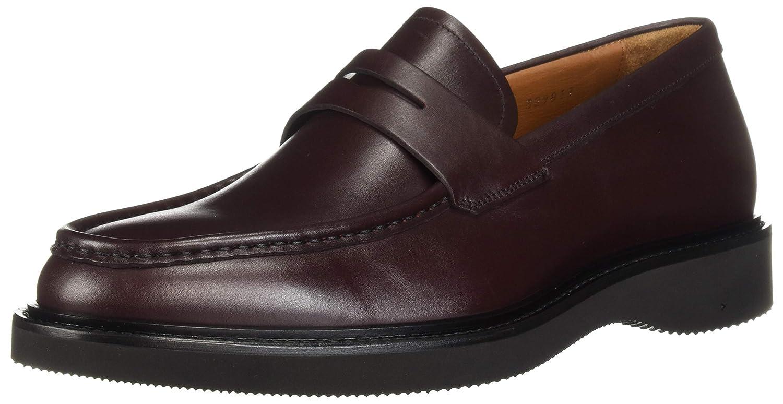 Burgundy Aquatalia Mens Kurt Dress Calf Loafer