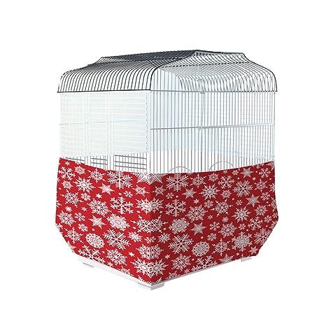 chengsan - Funda para Jaula de pájaros con diseño navideño: Amazon ...