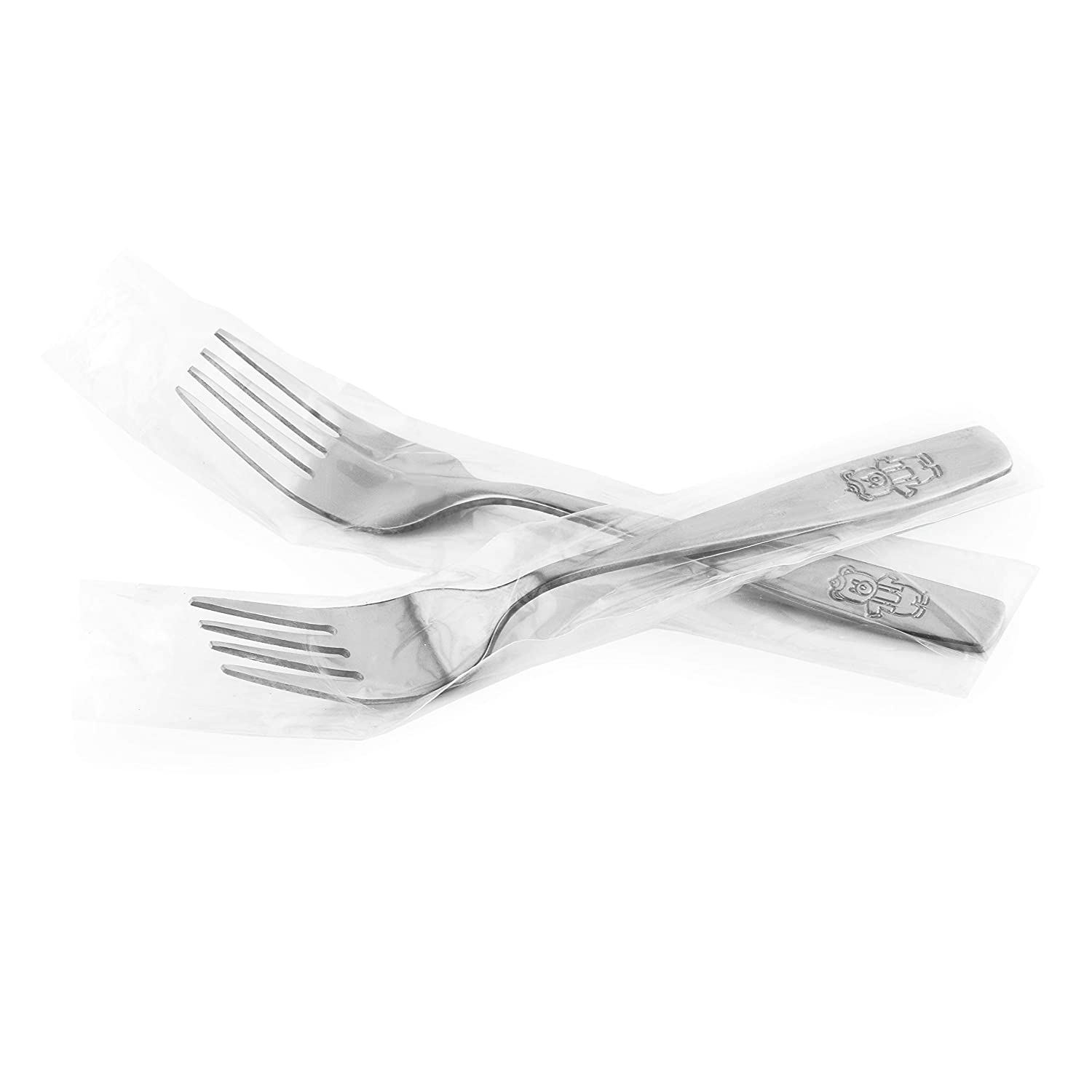 Kids Silverware Child and Toddler Safe Flatware Ideal for Home and Preschools 9 Piece Stainless Steel Kids Forks Kids Cutlery Kids Utensil Set Includes A Total of 9 Forks for Great Convenience
