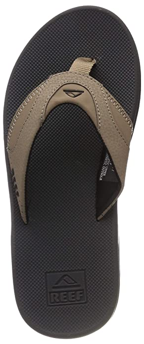 0b76c27ae83e Image Unavailable. Image not available for. Color  Reef Fanning Mens  Sandals Bottle Opener Flip Flops ...