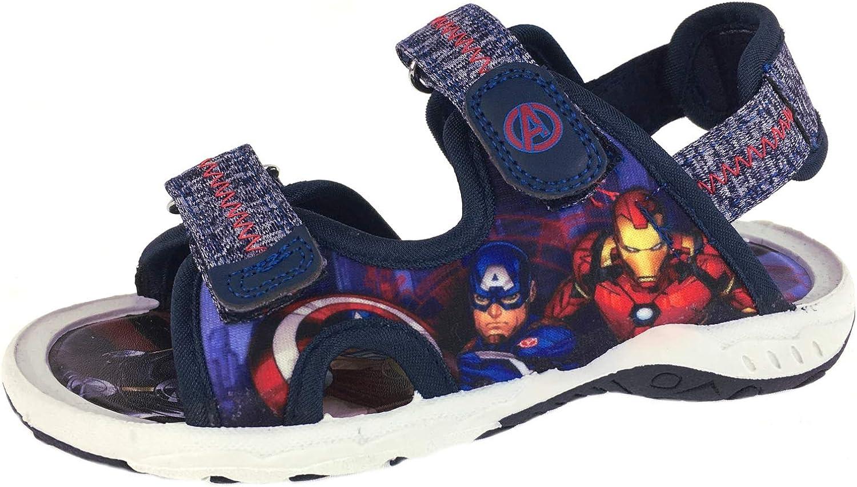 Spiderman Blue Summer Beach Holiday Sandals UK Sizes Child 8-2