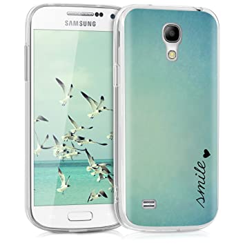 e62e96f55c7 kwmobile Funda para Samsung Galaxy S4 Mini: Amazon.es: Electrónica