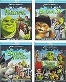 Shrek 1-4 Blu-ray 3D - Der tollkühne Held + Der tollkühne Held kehrt zurück + Shrek der Dritte + Für immer Shrek [IT-Import mit deutscher Sprache] [Blu-ray 3D + DVD]