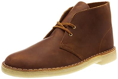 new concept 36dd8 264c7 CLARKS Originals Mens Desert Leather Beeswax Boots 12 US