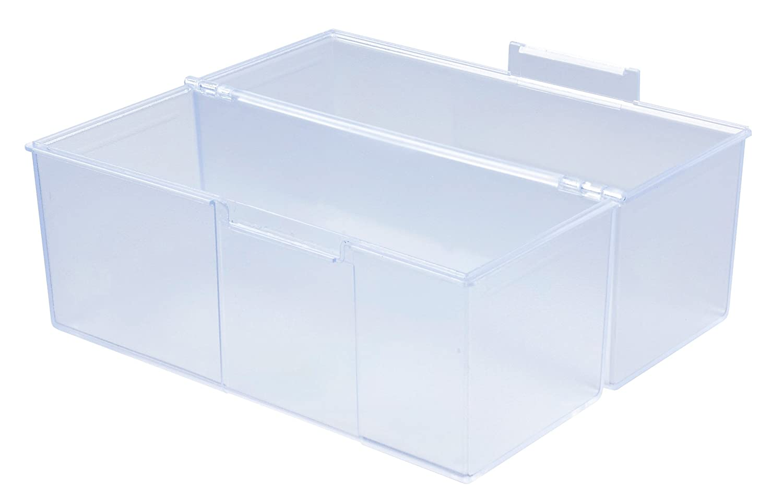 Aufbewahrungsbox Karteikasten Karteikartenbox DIN A5 500 Karteikarten Querformat