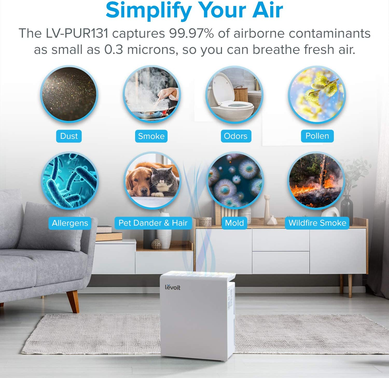 Popular functions of an air purifier
