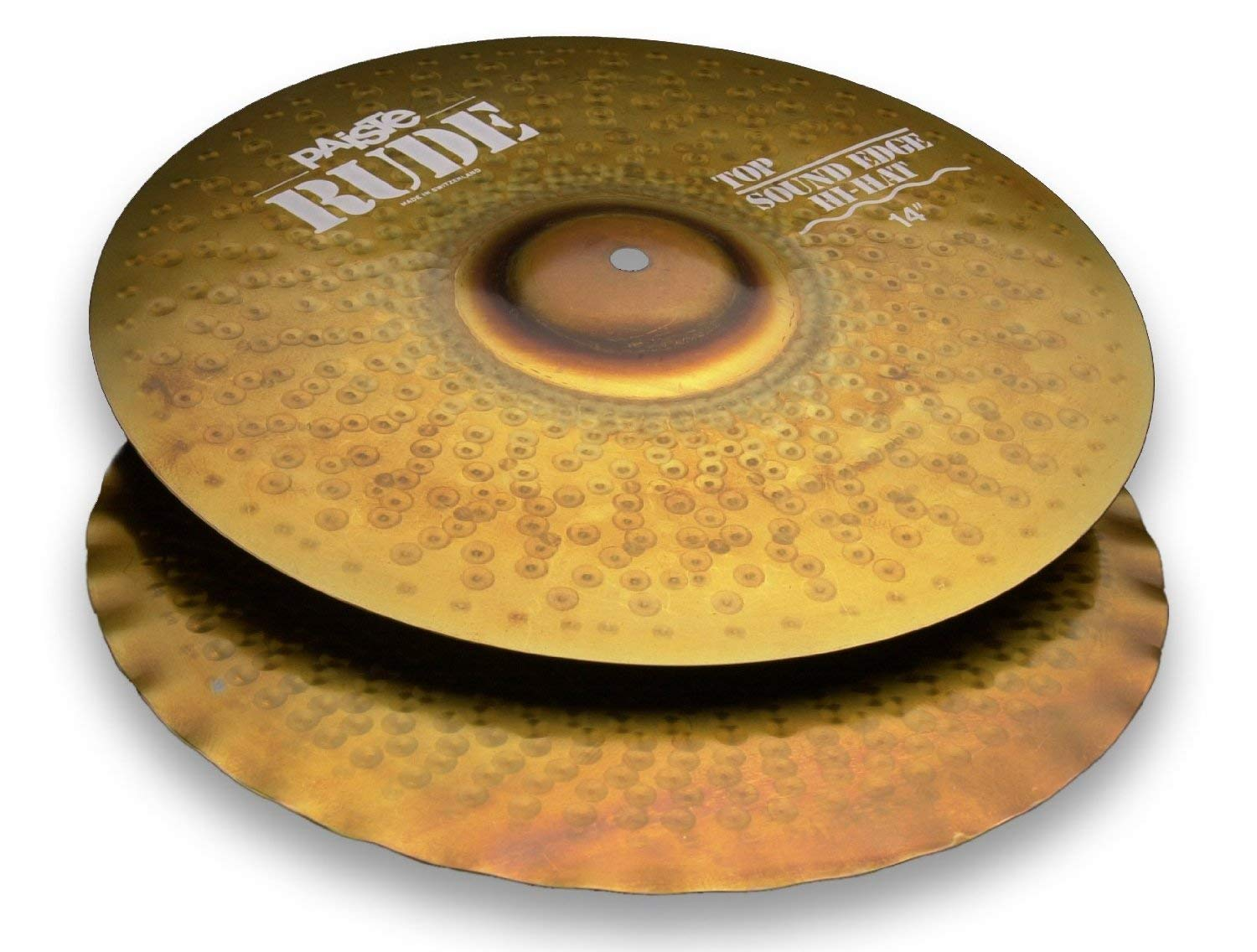 Paiste Rude Classic Sound Edge Hi-Hat Top 14''Factory Package w/Free Shipping NEW by Paiste