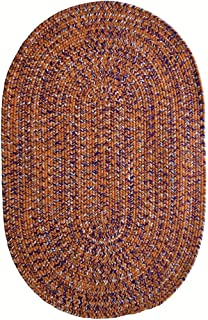 product image for Capel Rugs Team Spirit Area Rug, 4' x 6', Orange Regalia