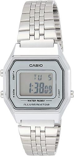 Casio Montres bracelet LA680WEA 7EF: : Montres  EkAmq