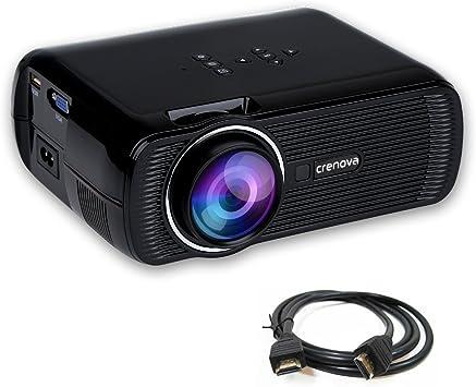 crenova® xpe460 – Proyector Mini con LED Ojo Protección HDMI ...
