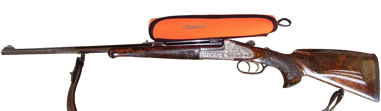 Orange Neopren Niggeloh Zielfernrohrcover 1411 00019 Funda de Visor Talla L L Naranja Large Unisex