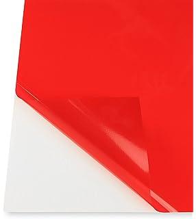 Amazon.com: Red Transparent Colored, Decorative, Privacy Window Film ...