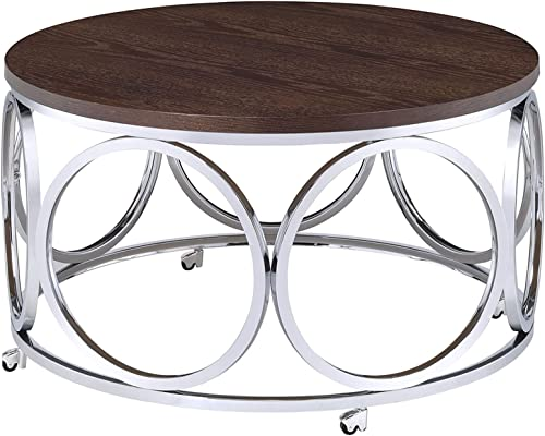 Abbey Avenue Highland Round Coffee Table - the best living room table for the money