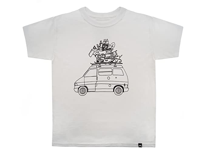 Amazon com: GoWesty Youth RAD Kids Eurovan T-Shirt (Small