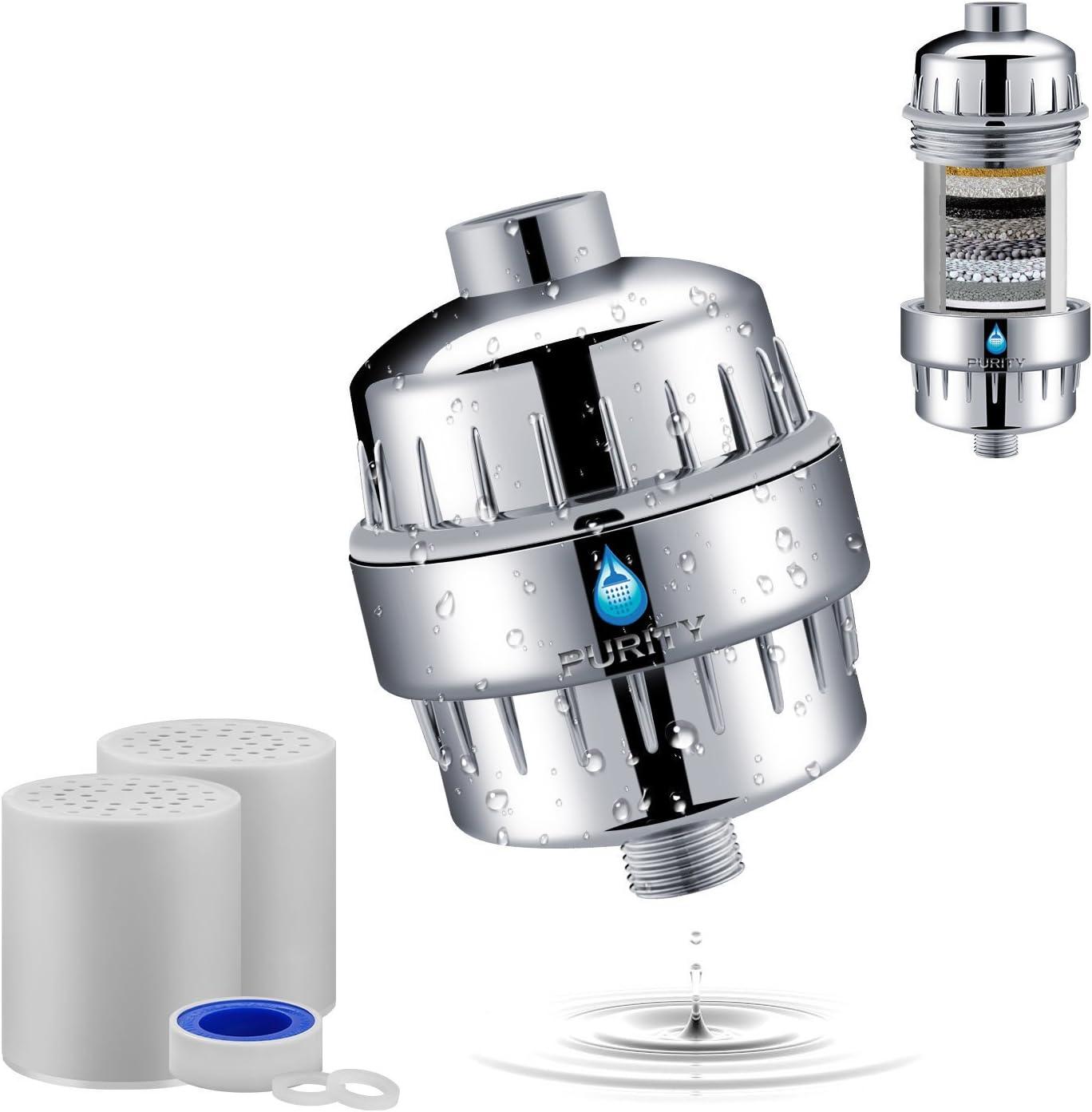 Sublime Solutions - Filtro de agua para ducha: Amazon.es: Hogar