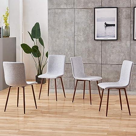 Sedie Per Tavolo Legno.Boju Set Moderno Per Sala Da Pranzo 1 Tavolo E 4 Sedie In